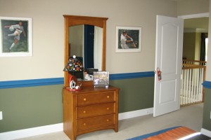 Resedential Interior Painting - Bedroom